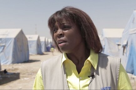 Scorching Heat and Bloodshed Fuelling a Humanitarian Crises as WFP Chief Visits Iraq (For the Media)