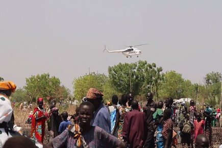 Famine Hits Parts of South Sudan (For the Media)