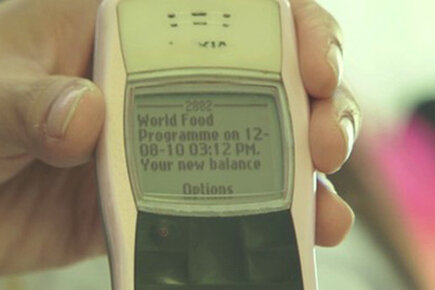 Getting Food  Via SMS In The Philippines
