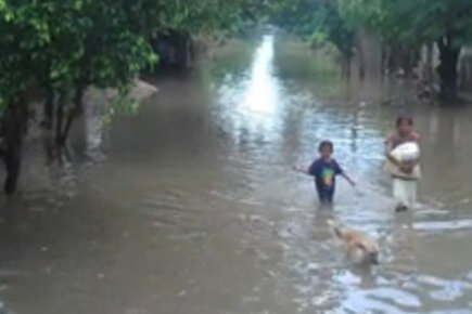 WFP's Hetze Tosta Reports from the Honduras Flood Zone