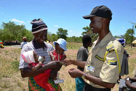 Cash and Carry with WFP in Zimbabwe