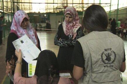 New E-Cards Make Life Easier For Syrian Refugees in Lebanon