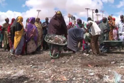 Somalia: Displaced Family Supports Itself Through 'Food-for-Work' programme