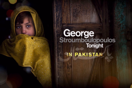 George Stroumboulopoulos In Flood-Hit Pakistan