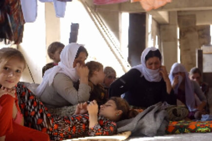 WFP Faces Challenges Helping Displaced In Iraq