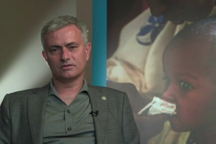'More important than football': Jose Mourinho on working for WFP