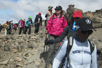 Happy International Women's Day From Mount Kilimanjaro