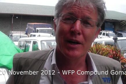 """""""There Is Gunfire All Around Us,"""" Says WFP Staffer In DR Congo"""