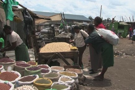 High Food Prices: A Visit To A Nairobi Food Market