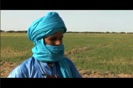 Mali farmers reclaim lake