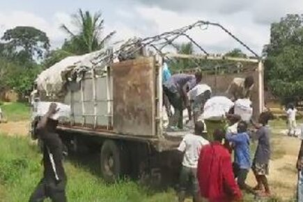 On The Ground In Liberia: Delivering Food To Ebola-Stricken Communities