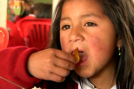 Ecuador: WFP links small-scale farmers with schools for a diversified diet