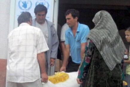 WFP Deputy Director Visits Kyrgyzstan Emergency Op