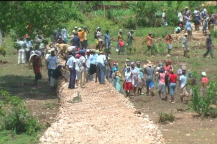 Food Aid Rebuilds Lives in Haiti