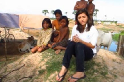 Cambodia: WFP's Para Hunzai tells us about a flood victim she met