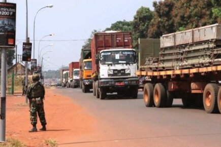 Securing Supply Routes Vital To Reach The Hungry In C.A.R. (For The Media)