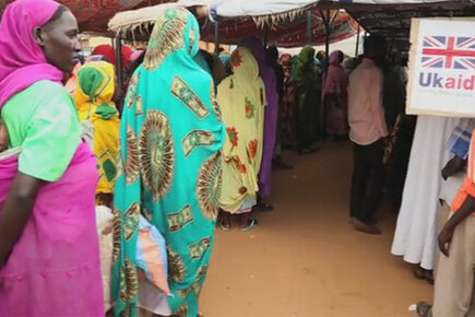UK's DFID Contribution Allows WFP To Diversify The Tools And Ways Of Ending Hunger In Darfur