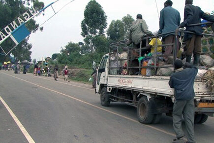 Violence in Eastern DRC forces thousands to flee the Democratic Republic of Congo (For The Media)
