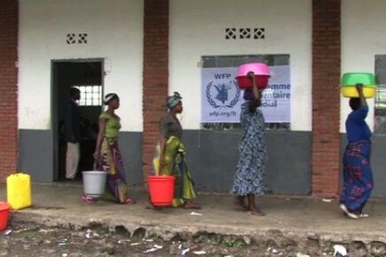WFP Forced to Reduce Food Assistance in DRC (For The Media)