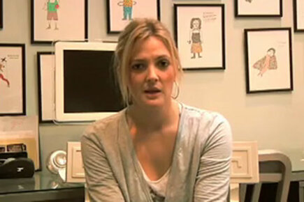 Drew Barrymore appeal video