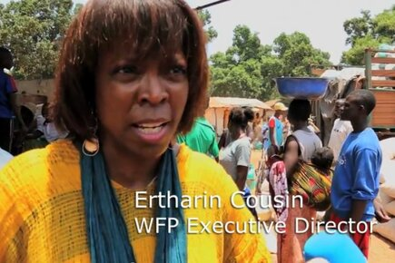 'We Will Not Forget You,' WFP Head Tells CAR's Displaced