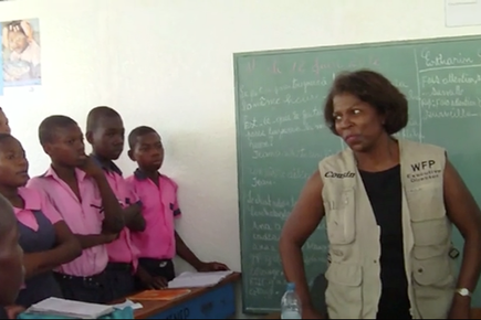 Haiti: Fresh Milk Gets Kids Through School