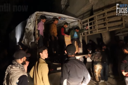 Focus On Zero Hunger: Syria, WFP Delivers Food To Beseiged City Of Modamiyeh