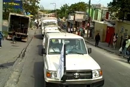 WFP Brings Food To Haiti Quake Victims