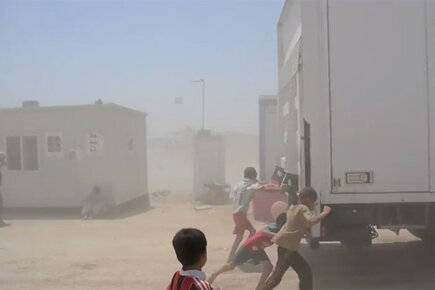 Iraq: Heat and Dust in Khazir Camp