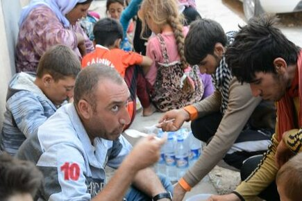 WFP/UNHCR Assistance to Iraqis fleeing Violence in Sinjar (For The Media)