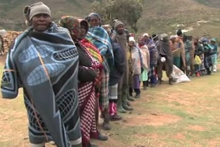 Food Eases The Strain On Lesotho Families Hit By Drought