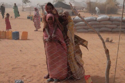 A Grain Of Hope For Refugees From Mali