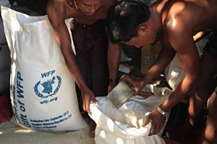 WFP Assistance Rakhine State in Myanmar (For The Media)