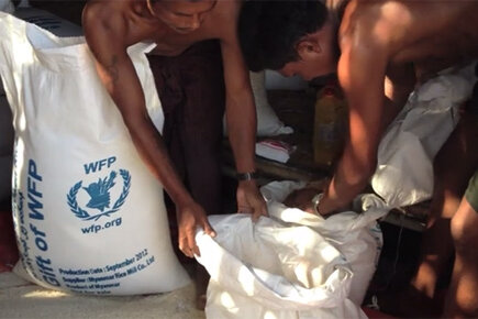 Myanmar: WFP Reaches Victims Of Violence In Rakhine State