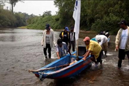 Nicaragua: WFP Boats Tackle Hazardous River Journey