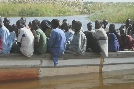 Nigerians Flee Across Lake Chad To Escape Violence