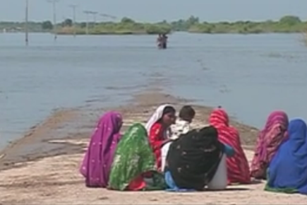 Pakistan Waits For Villages To Emerge From Flood Waters