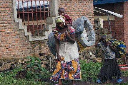 WFP Provides Assistances to People Forced to Flee Violence in Eastern DR Congo