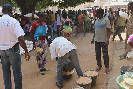 WFP Running Out Of Food In Central African Republic (For the Media)