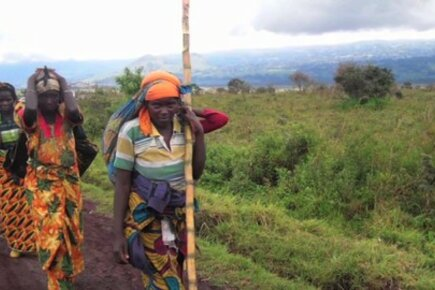 Families In DR Congo Return Home As Violence Subsides