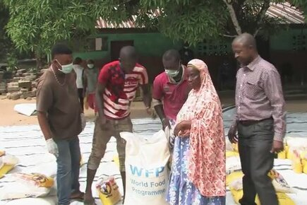 Using Food Distribution To Help Prevent Spread Of Ebola In Sierra Leone