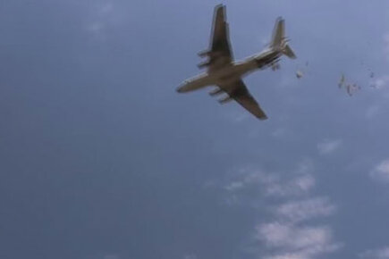 WFP Fights Malnutrition With Airdrops In South Sudan
