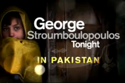 """George Stroumboulopoulos Tonight"" in Pakistan"
