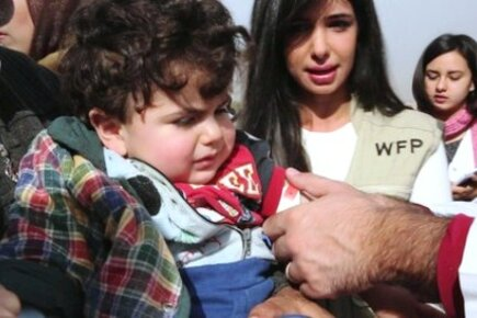WFP On The Ground In Syria (For The Media)