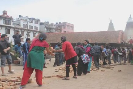 Earthquake Survivors In Nepal Need Your Support