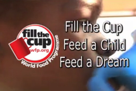 World Food Day 2011 - Pass the Cup!