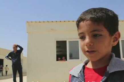 Three Lives Being Lived in Zaatari Refugee Camp