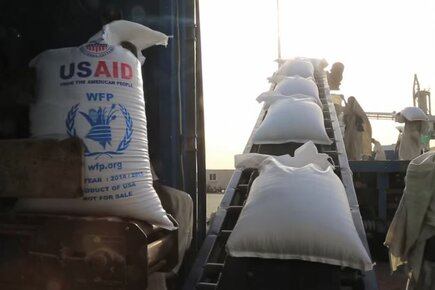 US, WFP Working Together To Help The Hungry In Sudan