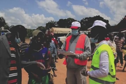 How WFP Food Assistance Helps Prevent Spread Of Ebola