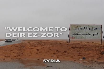 UN Convoy Enters Deir ez-Zor